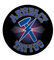 Artifact Tattoo Retina Logo